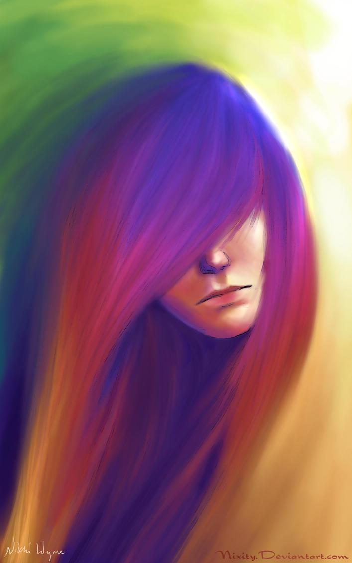 Rainbow Girl by Nixity