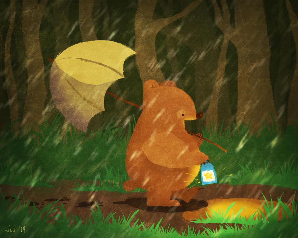 Bear Trail by Nixity