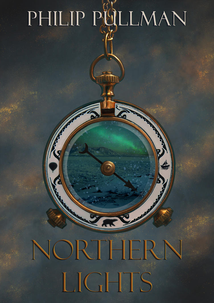 Northern Lights Book Cover by Nixity