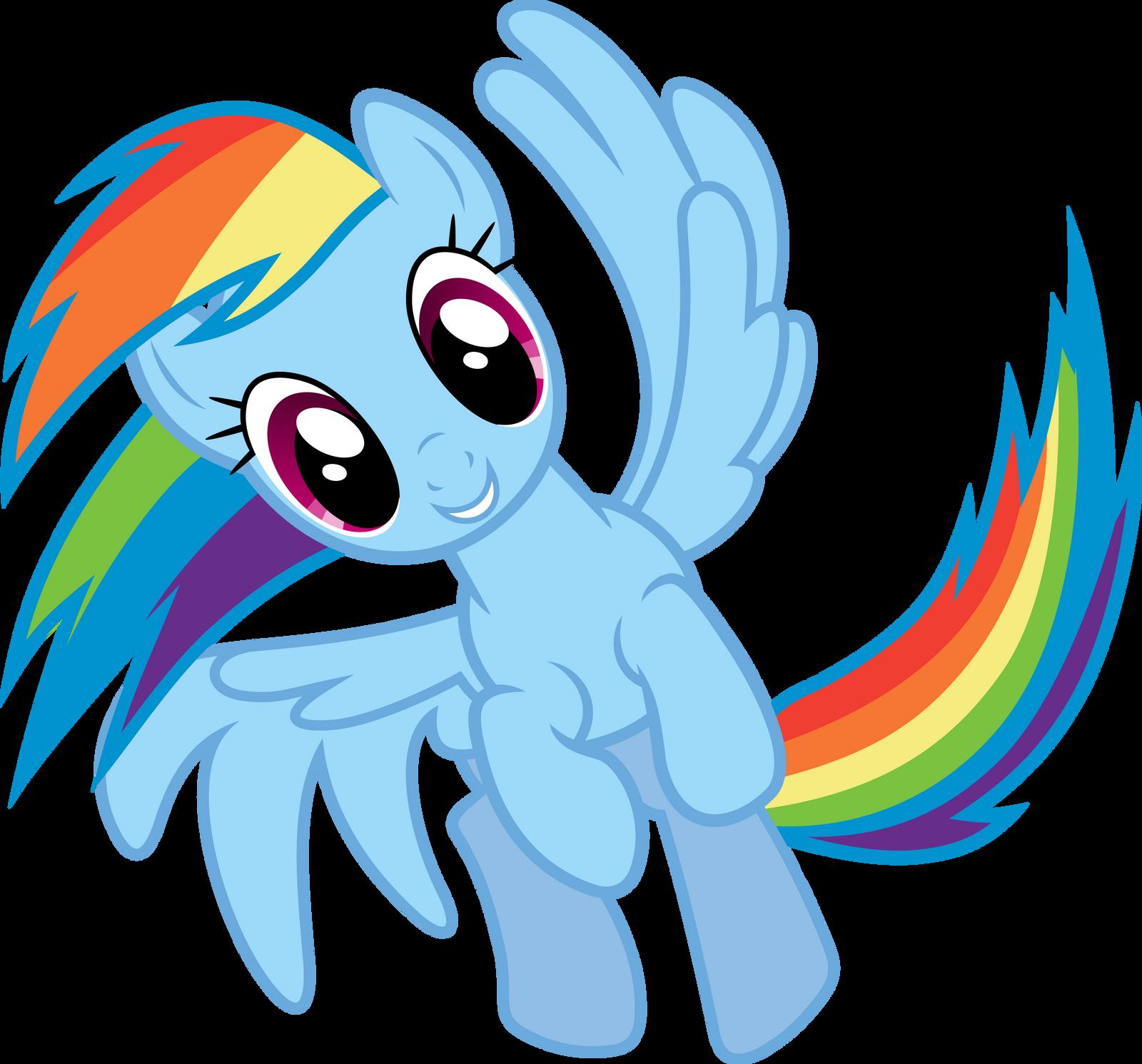 Rainbow Dash Spinning