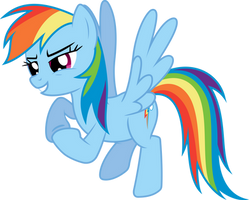 Rainbow Dash - Plotting by Powerpuncher