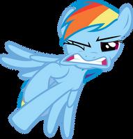 Project 1 - Rainbow Dash by Powerpuncher