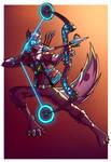 Cyberpunk Foxxo [Paypal Commission]