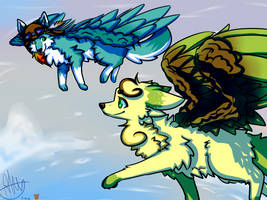 Fly with me by HobbitHinata-chan