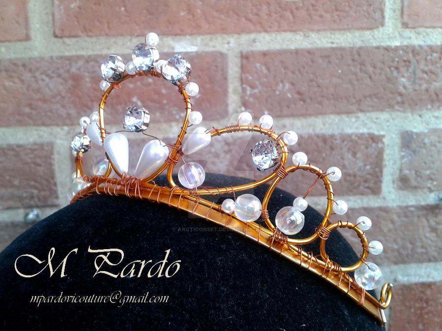 Basic ballet tiara by arcticorset