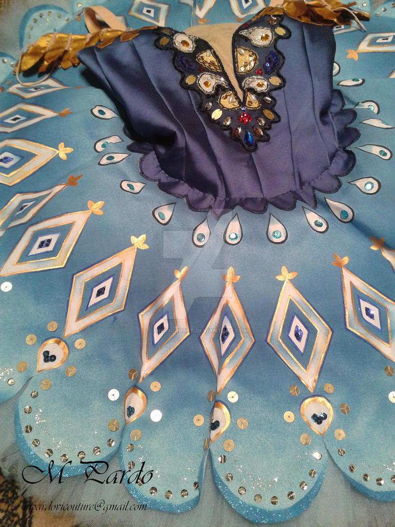La Fille du Pharaon - Aspicia tutu costume by arcticorset