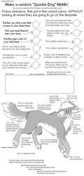 Sparkle Dog MEME by Kainaa