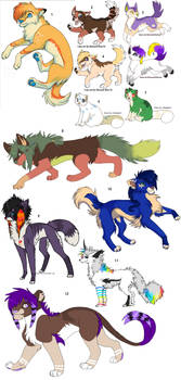 Left Over Adoptables