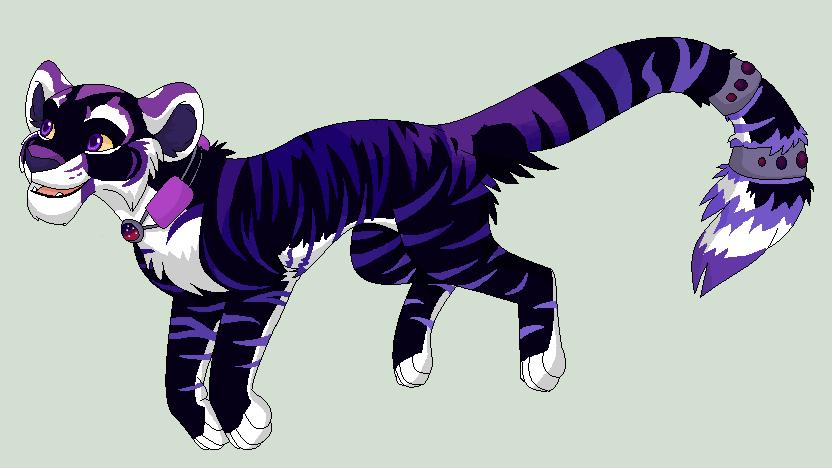 Jump, Space Tigress! by Kainaa