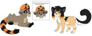 Halloween Adoptables by Kainaa