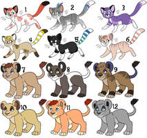 Point Adoptables by Kainaa