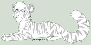 Tiger Line Art
