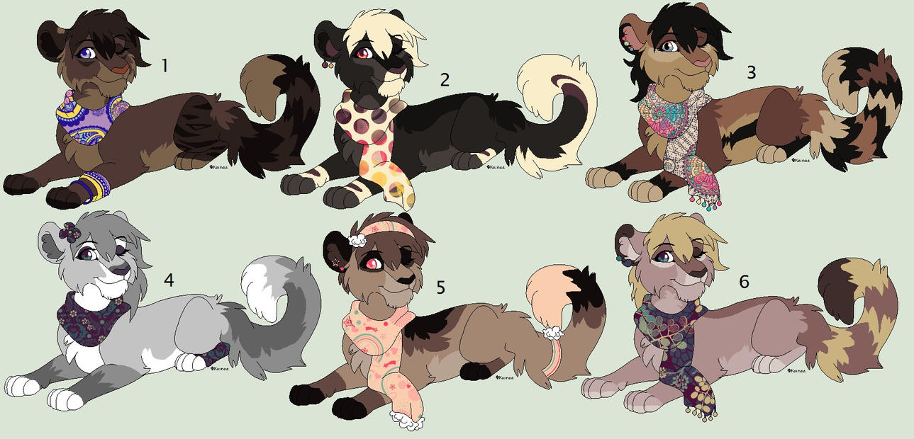 Scarfy Adopts  - - special price on drawing deal by Kainaa