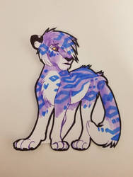 Purple and Blue Tiger Adopt by Kainaa