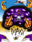 THE MAXX-colored