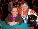 Getting Warwick Davis autograph by Gordy69