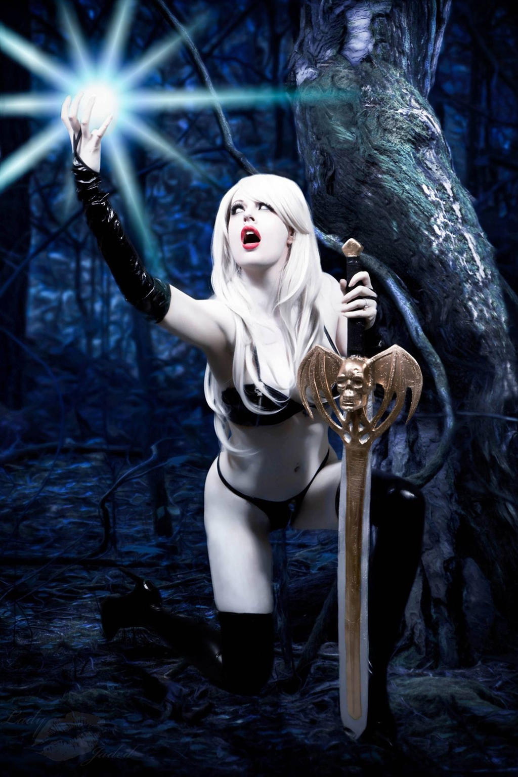 Lady death cosplay xxx naked scenes
