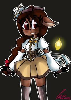 puella magic Furry magica 1