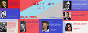 Happy Independence Day 2019 by vanessa5400