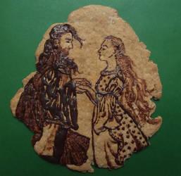 Faramir and Eowyn cookie