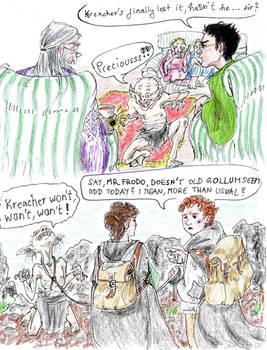 Tolkienverse and Potterverse - Stinker and Slinker