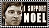 I support Noel stamp