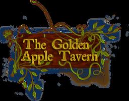 Golden Apple Tavern Logo by Aurhia