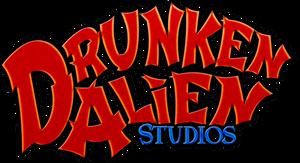 Drunken Alien Studios logo by Aurhia