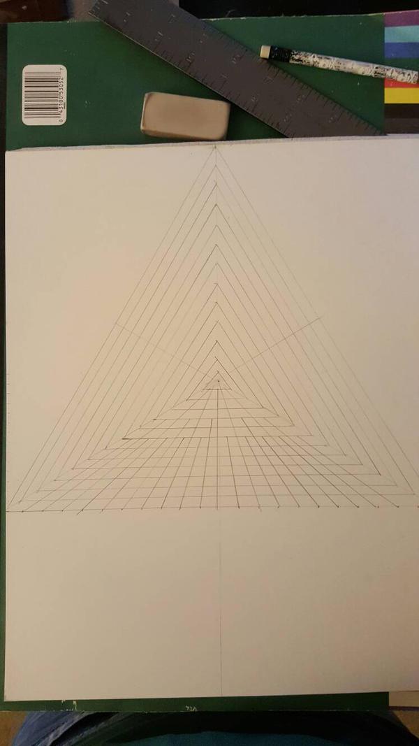 wip, geometric knotwork