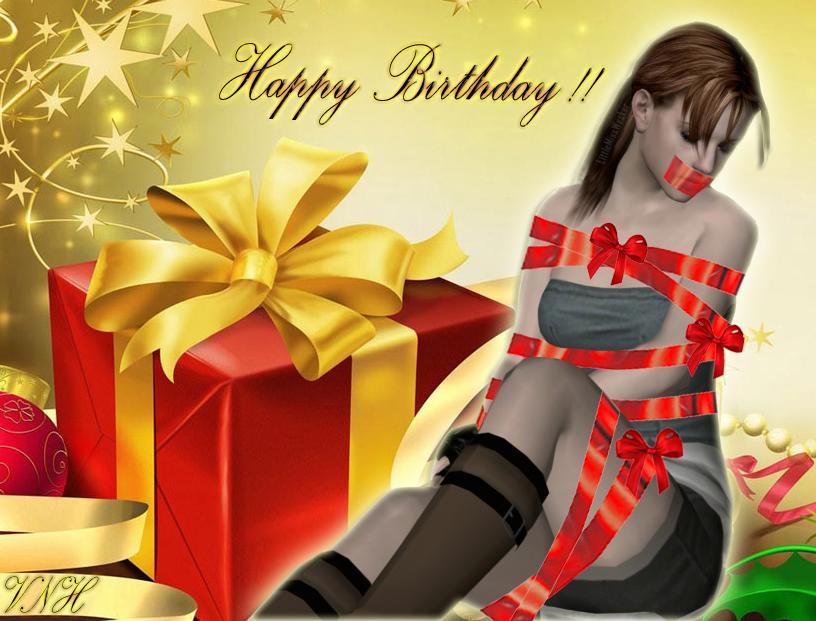 Birthday girl by veronerohero