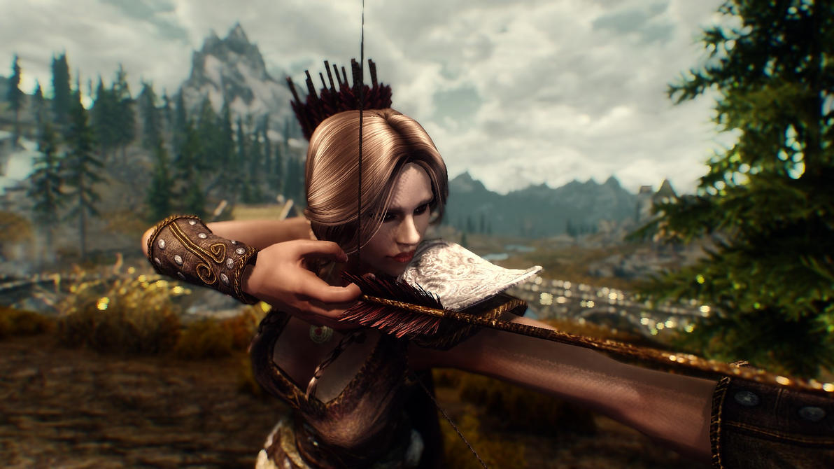 Skyrim Nord Archer By Derpyinky On Deviantart