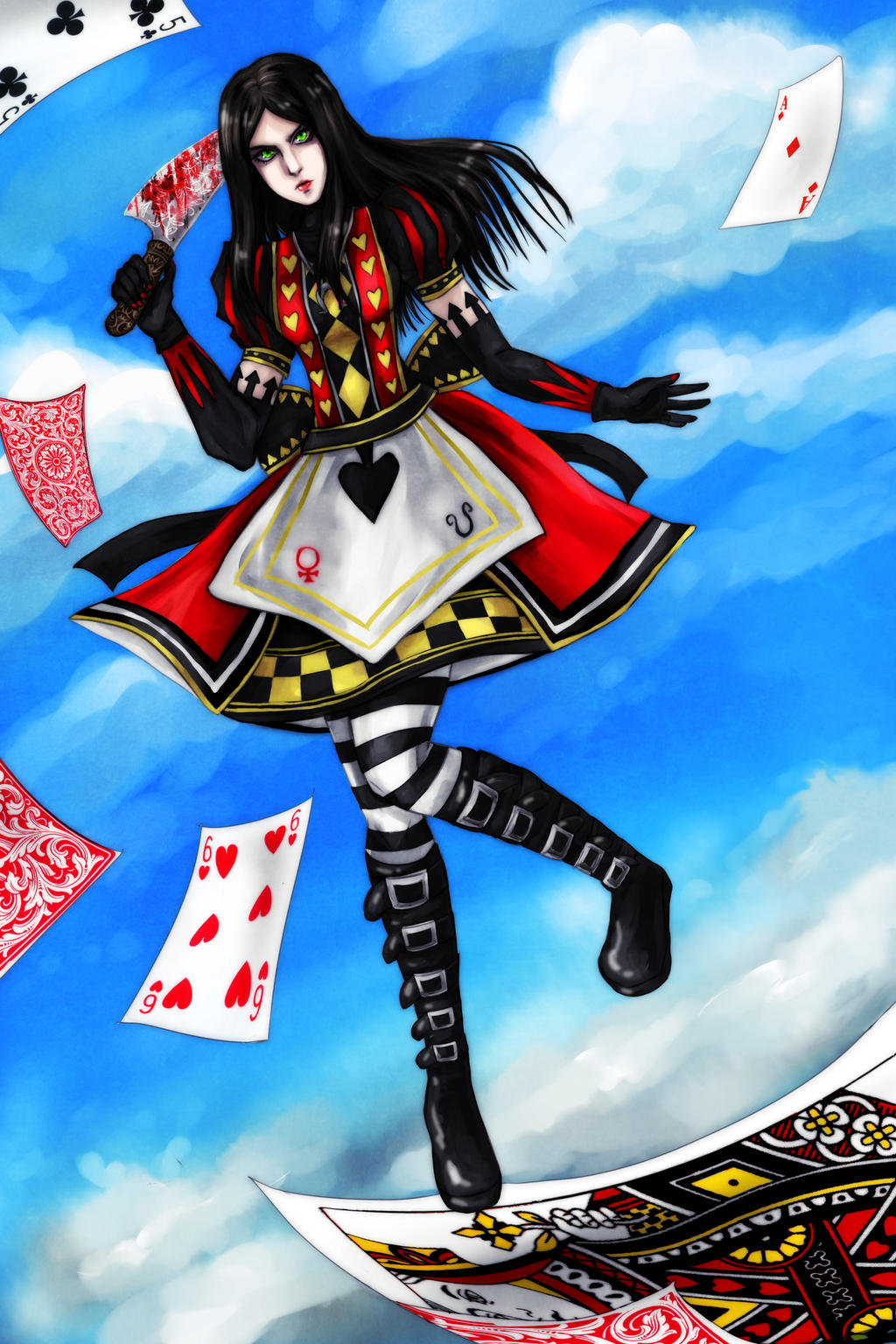 Alice Liddell by catablu