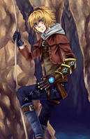 League of Legends: Ezreal by catablu