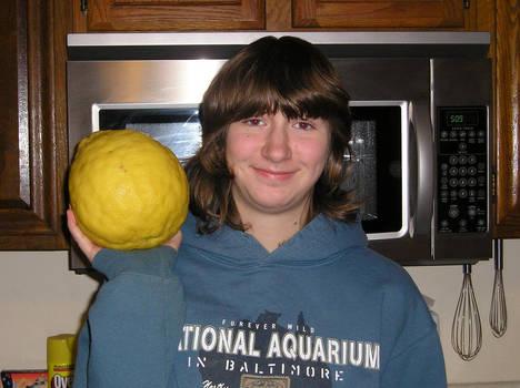 OMG, My Lemon's HUGE