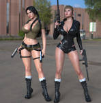 Lara and Laura back to action