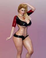 P.A.W.G Super heroine by guhzcoituz