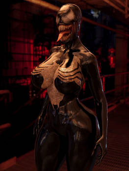Female Symbiote ( Full Venom transform)