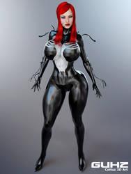 Mary Jane She Venom by guhzcoituz