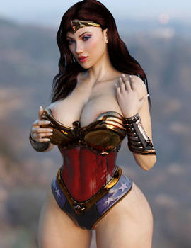 Wonder Woman Tease