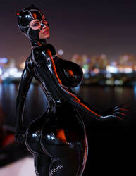 Catwoman by guhzcoituz