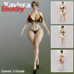 Xaviera Body For Genesis 3 Female