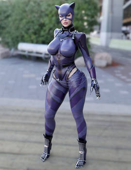 Catwoman/Regime 3DCosplay