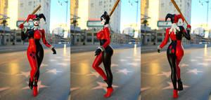 Harley Quinn Classic FOR Genesis 3 Female