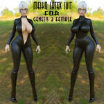 Meiko Latex Suit for Genesis 3 Female