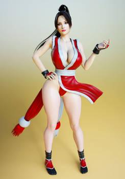 Mai Shiranui Outfit for G3F