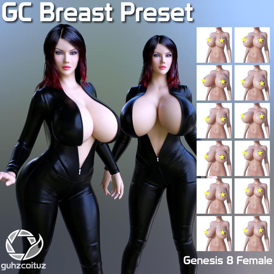 GC Breast Preset for Genesis 8 Female by guhzcoituz
