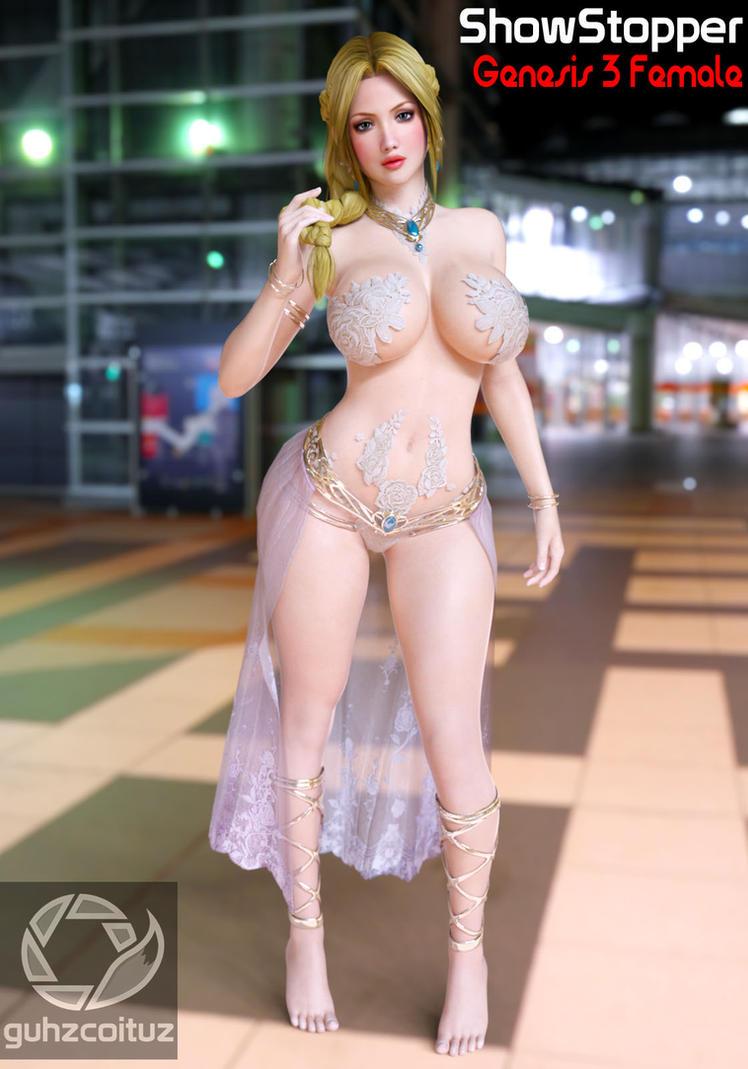 Helena Showstopper Costume Daz Studio by guhzcoituz