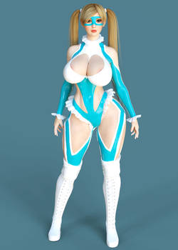 Mika Outfit for Genesis 3 Female (3D Cosplay)