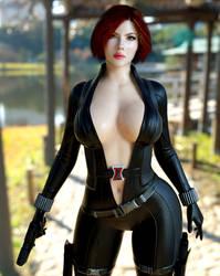 Black Widow WS Genesis 3 Female by guhzcoituz