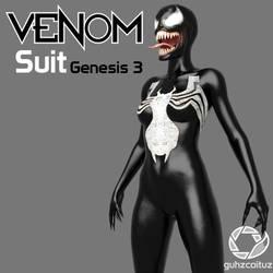 Venom Suit for Genesis 3 by guhzcoituz